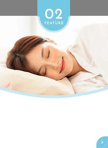 鎮静剤を使用して 苦痛を抑え楽に受けられる 内視鏡検査